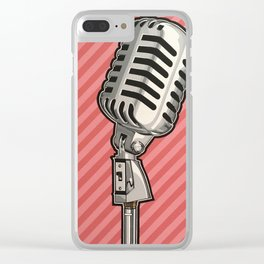 Sing It Clear iPhone Case