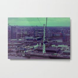 Cable Car to Greenwich Metal Print