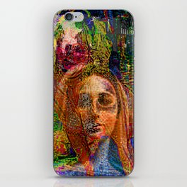 Madonna Of The Tractor Pull iPhone Skin
