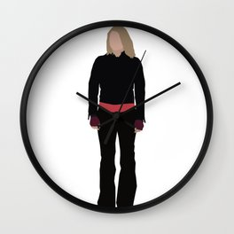 Rose Tyler: Bad Wolf Wall Clock
