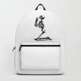 Forgive Me God Skull Backpack