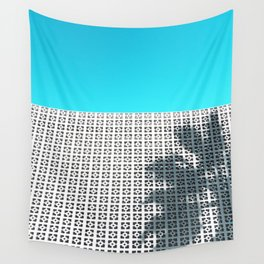 Parker Palm Springs with Palm Tree Shadow Wall Tapestry