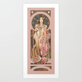 "Alphonse Mucha ""Dry Imperial"" Kunstdrucke"