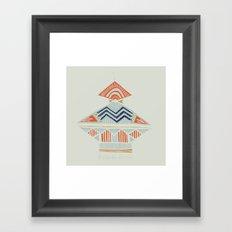 pyramids 2 Framed Art Print