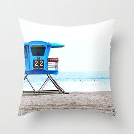 Lifeguard Throw Pillow