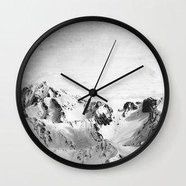Les Pyrénées Wall Clock