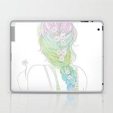 daisy braid Laptop & iPad Skin