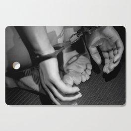 Handcuffed Cutting Board