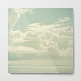 As the Clouds Gathered Metal Print