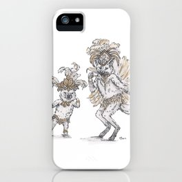 Tiny Dancer - Samba iPhone Case