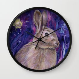 Rabbit Spirit Wall Clock