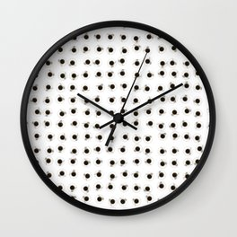 Coffee cups / 3D render of hundreds of cups of coffee Wall Clock