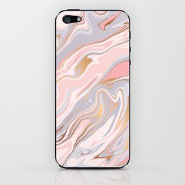 Marble and Gold 005 iPhone Skin