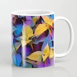 Flourescent Leaves Coffee Mug