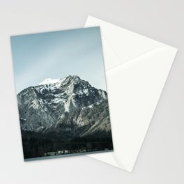 Winter Norwegian mountains Stationery Cards