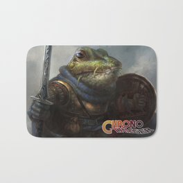 A knightly Frog  Bath Mat