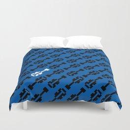 All of the 8Bit (Blue) Duvet Cover