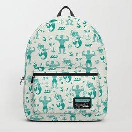 Mermaid & Sailor Love Story Backpack