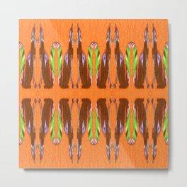 foye pattern Metal Print