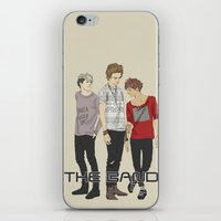 "band iPhone & iPod Skins featuring "" THE Band "" by Karu Kara"