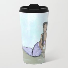 Calm Mermaid Travel Mug