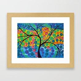 Tree of Abundance Framed Art Print