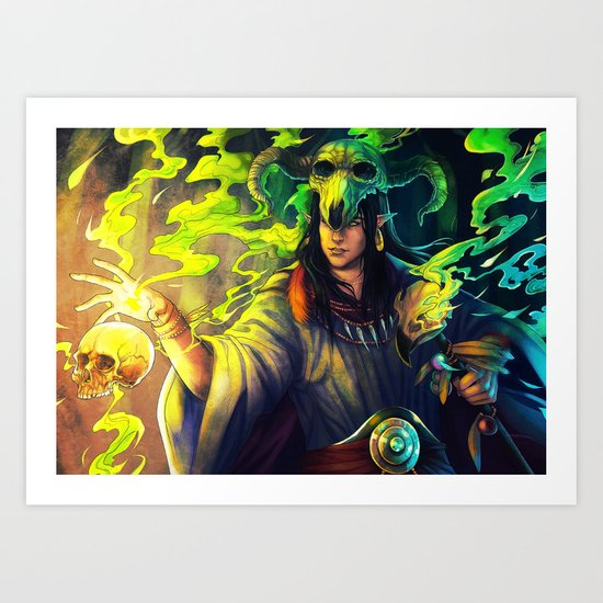 Dark Ritual Art Print