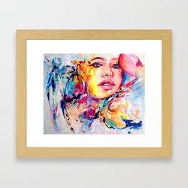 Brasileira Framed Art Print