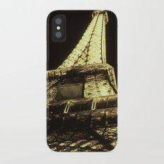eiffel@night iPhone X Slim Case