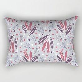 Hedgerow in grey Rectangular Pillow
