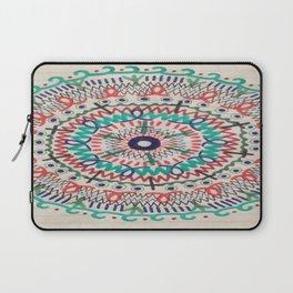 Pin Wheel Mandala Laptop Sleeve