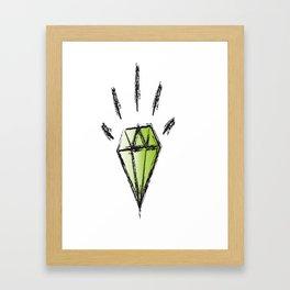 Diemun' Eyes Framed Art Print