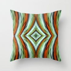 Phoenix abstract Throw Pillow