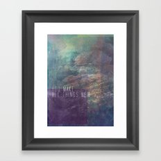 Revelation 21:5 Framed Art Print