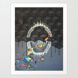 Teeth Art Print