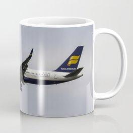 Icelandair Boeing 757 Coffee Mug