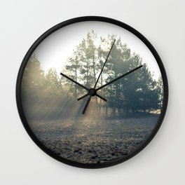 Good Moning Wall Clock
