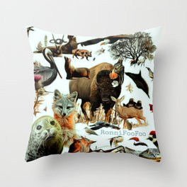 Santa Catalina Throw Pillow