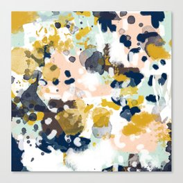 Sloane - abstract painting gender neutral baby nursery dorm college decor Canvas Print
