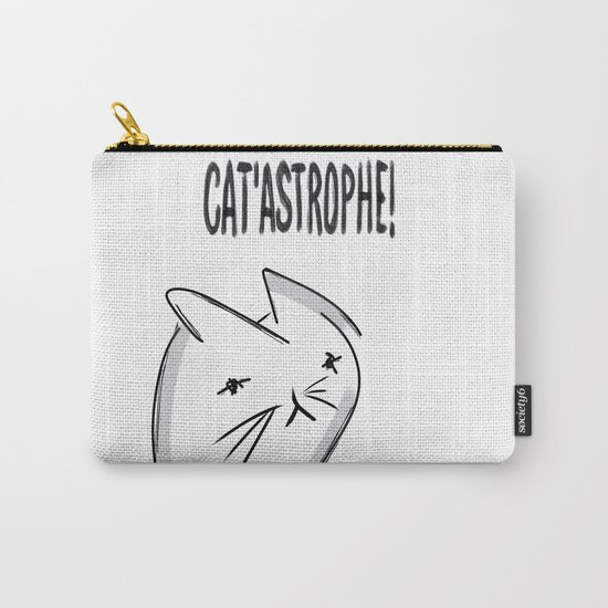 It's a Cat 'astrophe!!! Carry-All Pouch