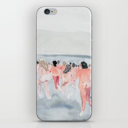 Skinny Dip Run iPhone Skin