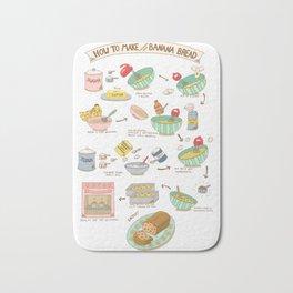 Chocolate Chip Banana Bread Recipe Bath Mat