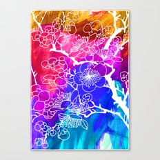 Flowers I Canvas Print