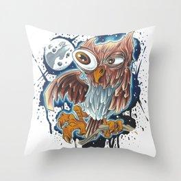 Bro,do you even owl? Throw Pillow