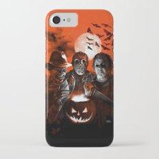 Freddy Krueger Jason Voorhees Michael Myers Super Villians Holiday iPhone 7 Slim Case