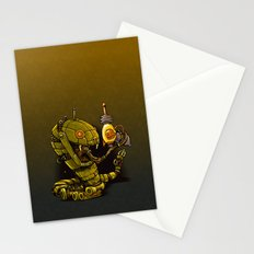 Robot Reptile Raygun Stationery Cards