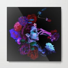 Preternatural Lascivia; Leeching Lust / A Vampire's Dilemma-Clear Floral Version Metal Print