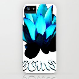 Lotus Flower Bomb iPhone Case