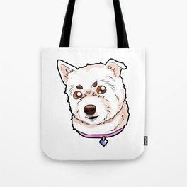 West Highland White Terrier Westie Dog Doggie Pup Tote Bag