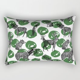 cozy christmas ii Rectangular Pillow